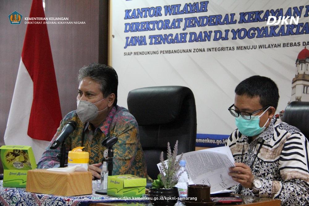 Exit Meeting BPK: Penyampaian Hasil Pemeriksaan Atas Pengelolaan Aset Properti dan Aset Kredit pada KPKNL Semarang