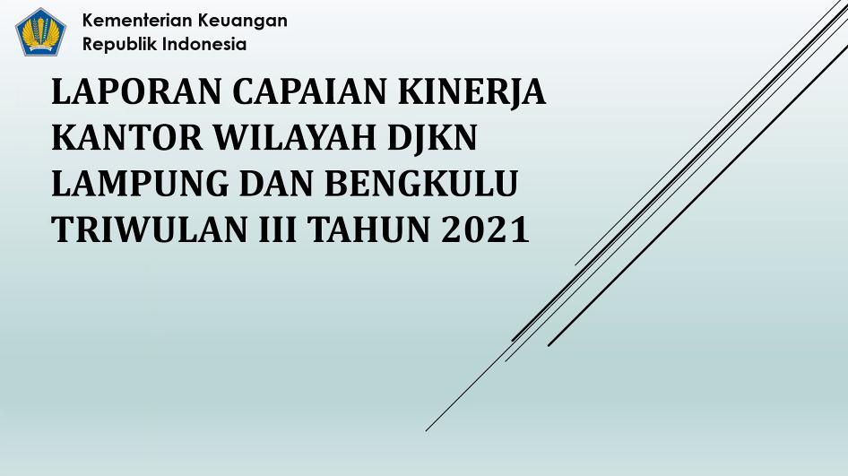 Evaluasi Capaian Kinerja, Manajemen Risiko, dan Pengendalian Intern Triwulan III Tahun 2021