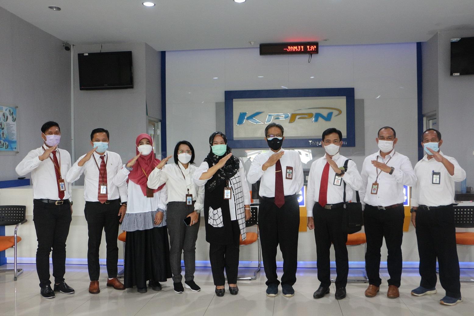 Tingkatkan Sinergi Melalui Kunjungan Kanwil DJKN SJB ke Satker Kementerian Keuangan di Wilayah Pulau Belitung