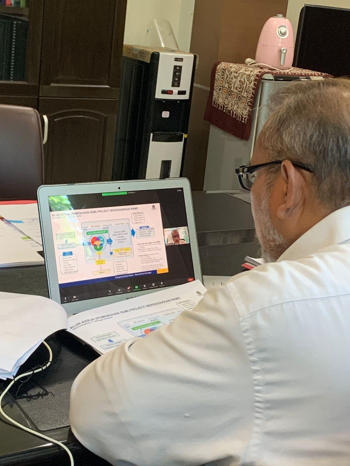 Kemenkeu Masa Depan dalam Focus Group Discussion Triwulan III Kepala KPKNL Jakarta II