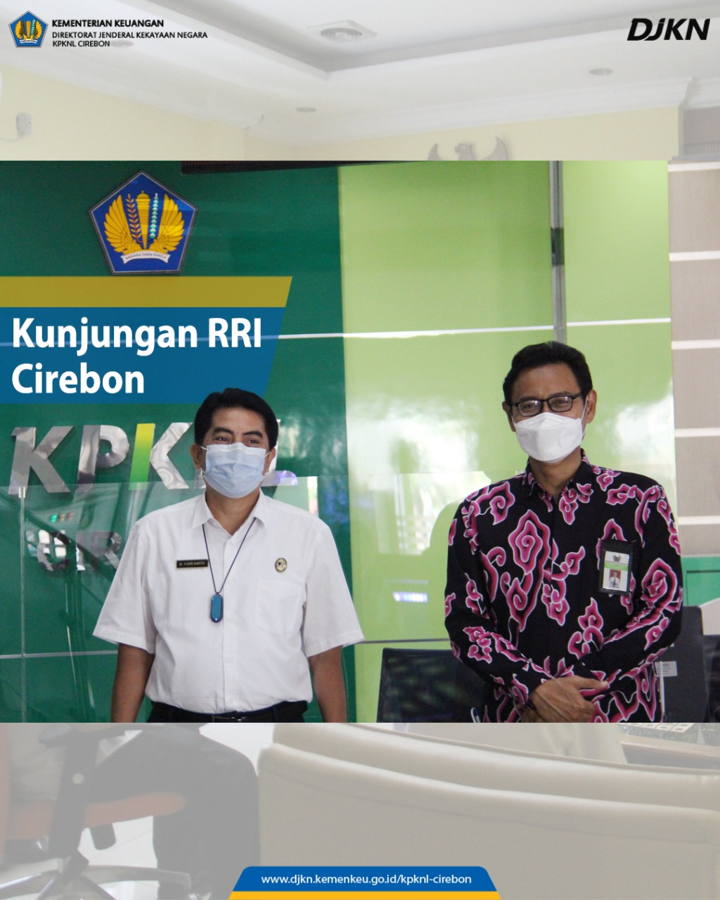 Jalin Komunikasi dan Sinergi, LPP RRI Cirebon Kunjungi KPKNL Cirebon