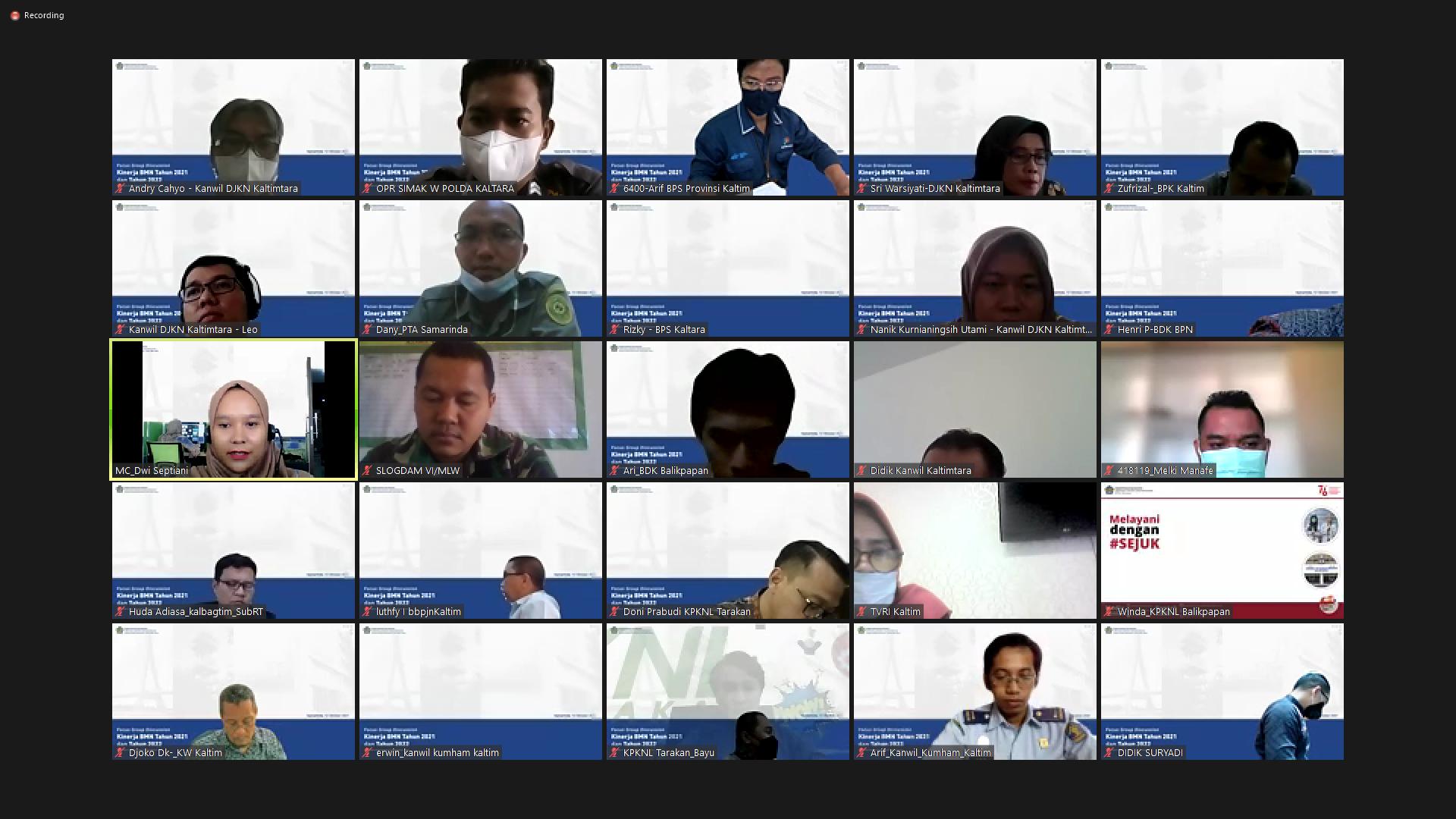 Siapkan Gagasan dan Strategi dalam Optimalkan Kekayaan Negara, Kanwil DJKN Kaltimtara adakan Focus Group Discussion