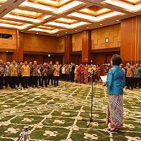 Menteri Keuangan Lantik 37 Pejabat Eselon II Kemenkeu dan Ketua Dewan Direktur LPEI