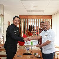 Kepala Kanwil DJKN Jawa Timur Serahkan Aset Bekas Milik Asing/Tionghoa Kepada Pemkab Banyuwangi