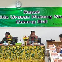 Rapat Panitia Urusan Piutang Negara Cabang Bali di KPKNL Singaraja