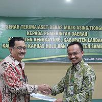 Serah Terima Aset ABMA/T kepada Pemerintah Daerah di Provinsi Kalimantan Barat