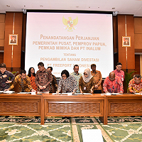 Ambil Alih Freeport Tanpa Bebani APBN, Sri Mulyani Pastikan Ada Hak Untuk Warga Papua