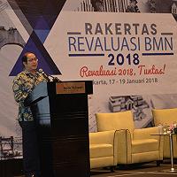Dirjen Kekayaan Negara Berikan Apresiasi Hasil  Revaluasi BMN 2017 yang Mencapai 102,34 Persen