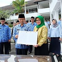 Penandatanganan Nota Kesepahaman Kantor Wilayah DJKN Jawa Barat Dengan Pemerintah Kota Sukabumi