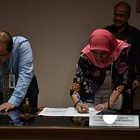 DJKN Tanda Tangani Kontrak Manajemen 2018 dengan LPEI