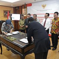 LMAN - PT PATNA Tandatangani Perjanjian Kerjasama Operasional dan Investasi di KEK Arun Lhokseumawe