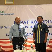 Rapat Koordinasi Kanwil BPJS Ketenagakerjaan Jawa Timur Dengan Kanwil DJKN Jawa Timur