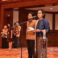 Pelantikan Pejabat Eselon III Kementerian Keuangan, Sri Mulyani: Pejabat Eselon III Bentuk Culture dan Value Organisasi