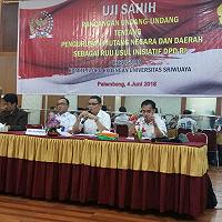Uji Sahih RUU Pengurusan Piutang Negara dan Daerah Sebagai Usul Inisiatif DPD RI