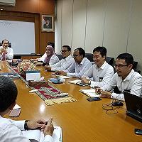 Rapat Pembahasan Rancangan Undang-Undang Lelang