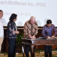 Indonesia Ambil Alih 51 Persen Saham PT Freeport Indonesia