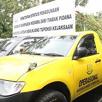 Dihadiri Jaksa Agung, DJKN Serahkan PSP Barang Rampasan di KPKNL Palangkaraya