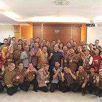 Disela-sela kegiatan IMF & World Bank Group Annual Meeting, Dirjen Kekayaan Negara Sambangi Kanwil DJKN Bali dan Nusa Tenggara