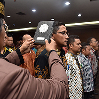Pelantikan Pejabat Eselon IV DJKN, Dirjen KN: Penempatan Pegawai memperhatikan Homebase, Skill, dan PUG