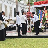 DJKN Terima Penghargaan dari Menkeu di Upacara Peringatan Hari Oeang Ke 72