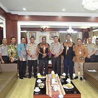 Sinergi Polda Lampung - DJKN Menindaklanjuti Hasil Revaluasi BMN