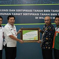 254 Bidang Tanah BMN di Maluku Utara Selesai Disertipikasi