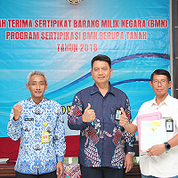 Sertifikasi BMN KPKNL Tegal Over Target