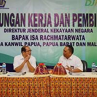 Kunjungan Dirjen Kekayaan Negara ke Tanah Papua