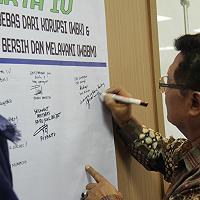KPKNL Jakarta IV Canangkan Pembangunan Zona Integritas menuju WBK-WBBM