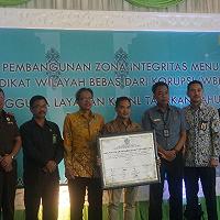 Berkomitmen Cegah Korupsi, KPKNL Tarakan Selenggarakan Pencanangan Pembangunan Zona Integritas