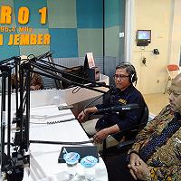 Jelaskan Tusi DJKN, KPKNL Jember Talk Show On Air di RRI Jember
