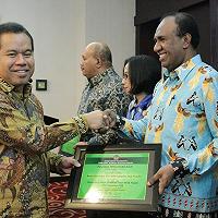 Sekretaris DJKN Apresiasi Realisasi Sertifikasi BMN Prov Papua yang Capai 179%