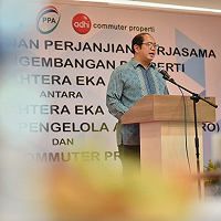 Optimalkan Aset Negara, Dirjen KN Sambut Baik HOA Pengembangan Kawasan Danau Bogor Raya