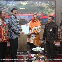 DJKN Hibahkan Aset Senilai Rp32,6 Miliar kepada Pemkot Semarang