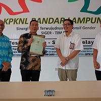 KPKNL Bandar Lampung Serahkan Aset Tanah dan Bangunan kepada Ombudsman RI