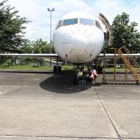 Melalui lelang.go.id, KPKNL Tangerang I Berhasil Lelang Pesawat Fokker PT Pelita Air Service senilai Rp2,8 Miliar