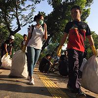 Clean Up Jakarta Day, DJKN Muda Kurangi Sampah Ibukota