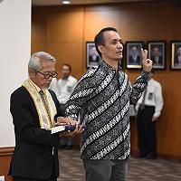 Melantik Ketua PUPN, Dirjen KN Ajak Pegawai Tampilkan Leadership dalam Berbagai Kesempatan