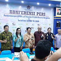 Konferensi Pers APBN, Negara Kelola Aset 20 Triliun Rupiah di Bengkulu
