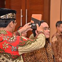 Lantik Dirut PT PII, Menkeu Ajak untuk Ciptakan Good Corporate Governance