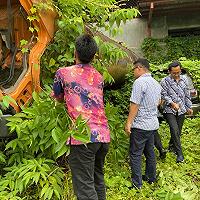 Tim Penilai KPKNL Terobos Belukar demi Penilaian Barang Rampasan Kejari Medan