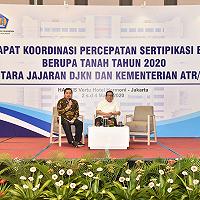 DJKN, Kementerian ATR/BPN, dan K/L Tingkatkan Sinergi dalam Pengamanan Aset Negara