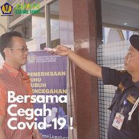 Siaga COVID-19, Kanwil DJKN Sumut Lakukan Berbagai Upaya Pencegahan