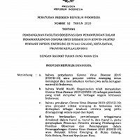 Presiden RI Tetapkan Perpres Penggunaan BMN untuk Fasilitas Observasi Pasien COVID-19 di Pulau Galang