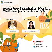 Menuju New Normal, Itjen Kemenkeu Gelar Workshop Kesehatan Mental