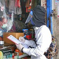 Sinergi dengan Pemkot Tegal, KPKNL Tegal Lakukan Penilaian Sewa 23 Ruko Pasar Sore Kota Tegal