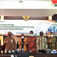 Sapa KPKNL Tangerang I dan KPKNL Tangerang II, Dirjen Ajak untuk Selalu Berpikir Aktif dalam Pemanfaatan Aset