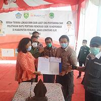 Dorong Pembangunan Daerah, DJKN Pinjam Pakaikan BMN Eks Pertamina ke Pemkab PALI Provinsi Sumsel