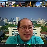 Bangkitkan Semangat Pegawai, Dirjen KN Kunjungi KPKNL Balikpapan via Virtual Visit