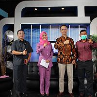 Jadi Narasumber TVRI Kalbar, Kakanwil DJKN Kalbar Ajak UMKM Pasarkan Produk di lelang.go.id